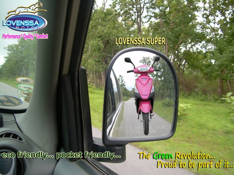 LOVENSSA SUPER- electric scooter
